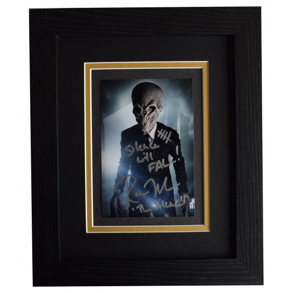 Ross Mullan Signed 10x8 Framed Photo Autograph Display Dr Who Doctor TV COA Perfect Gift Memorabilia AFTAL