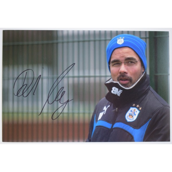 David Wagner Signed 12x8 Photo Autograph Huddersfield Town Football AFTAL COA Perfect Gift Memorabilia