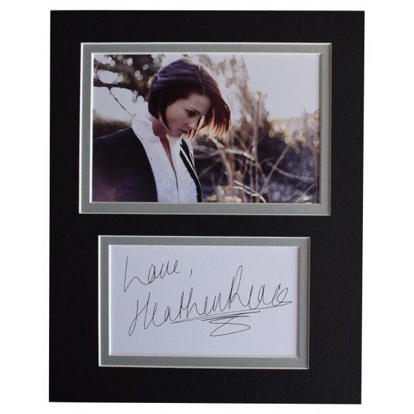 Heather Peace Signed Autograph 10x8 photo display TV Music Actress AFTAL COA Perfect Gift Memorabilia