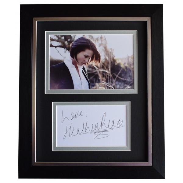 Heather Peace Signed 10x8 Framed Autograph Photo Display TV Music Actress & COA  Perfect Gift Memorabilia
