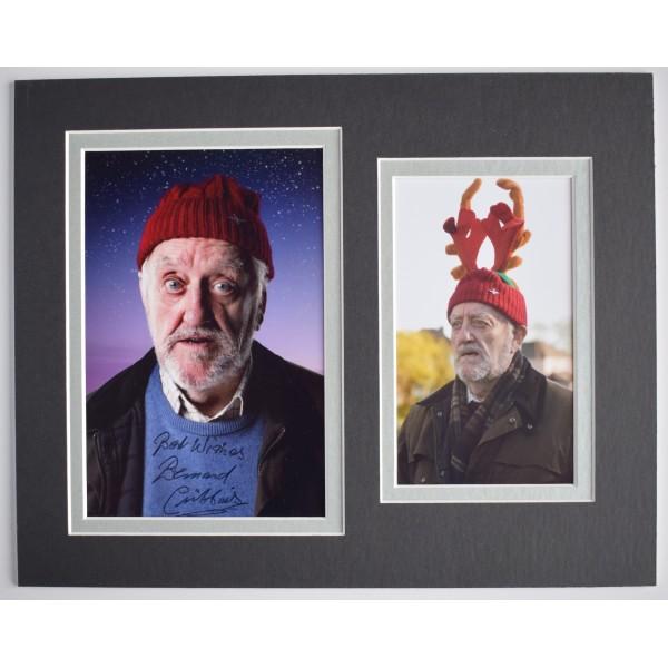Bernard Cribbins Signed Autograph 10x8 photo display Doctor Who Wilf AFTAL & COA Perfect Gift Memorabilia