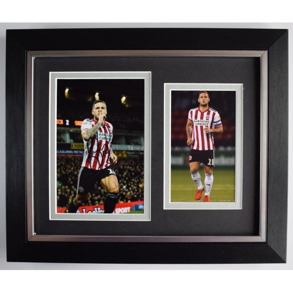 Billy Sharp Signed 10x8 Framed Autograph Photo Display Sheffield Utd AFTAL COA Perfect Gift Memorabilia