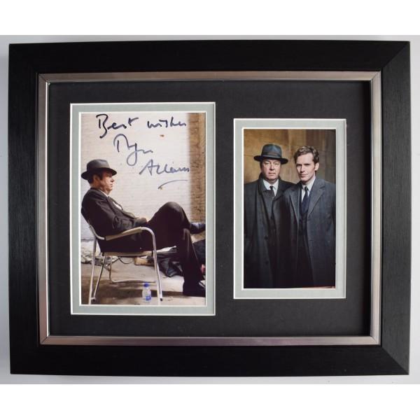 Roger Allam Signed 10x8 Framed Autograph Photo Display TV Endeavour AFTAL COA Perfect Gift Memorabilia