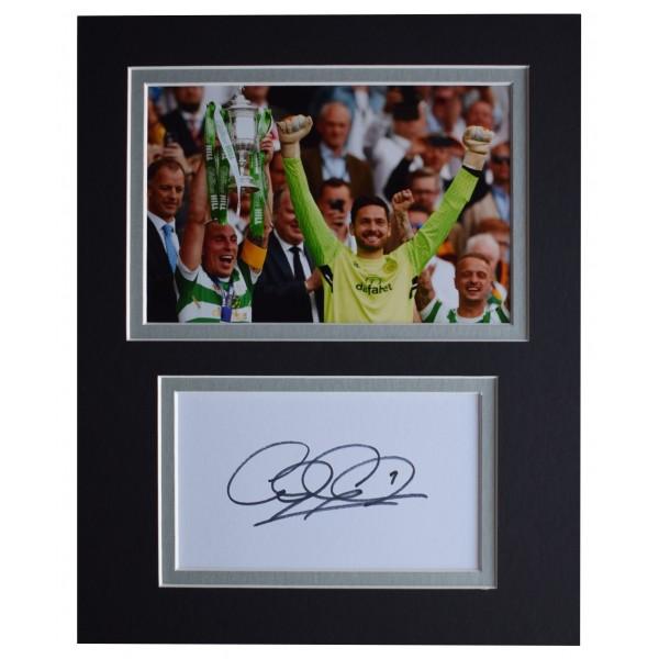 Craig Gordon Signed Autograph 10x8 photo display Celtic Football AFTAL COA  Perfect Gift Memorabilia