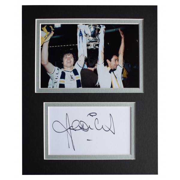 A4 HWC Trading A4 Ossie Ardiles /& Ricky Villa Tottenham Hotspurs Spurs Gifts Printed Signed Autograph Picture for Fans and Supporters