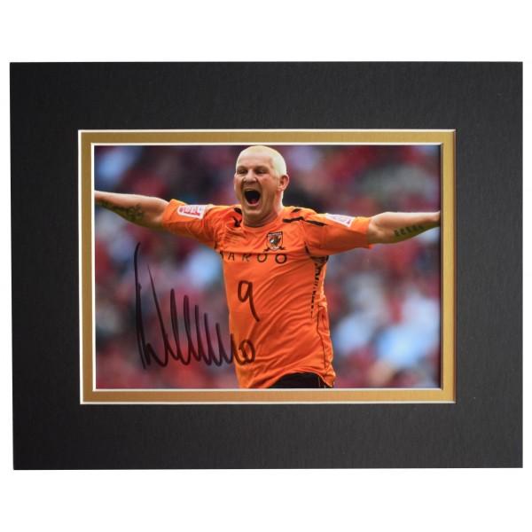 Dean Windass Signed Autograph 10x8 photo display Hull City Football COA  Perfect Gift Memorabilia