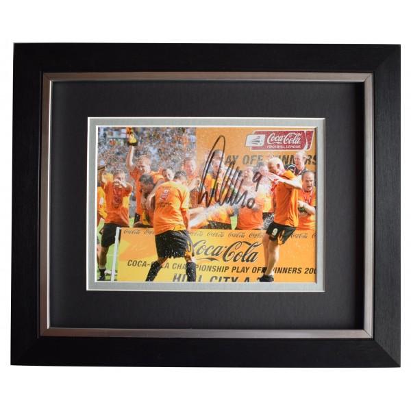 Dean Windass Signed 10x8 Framed Autograph Photo Display Hull City AFTAL COA  Perfect Gift Memorabilia