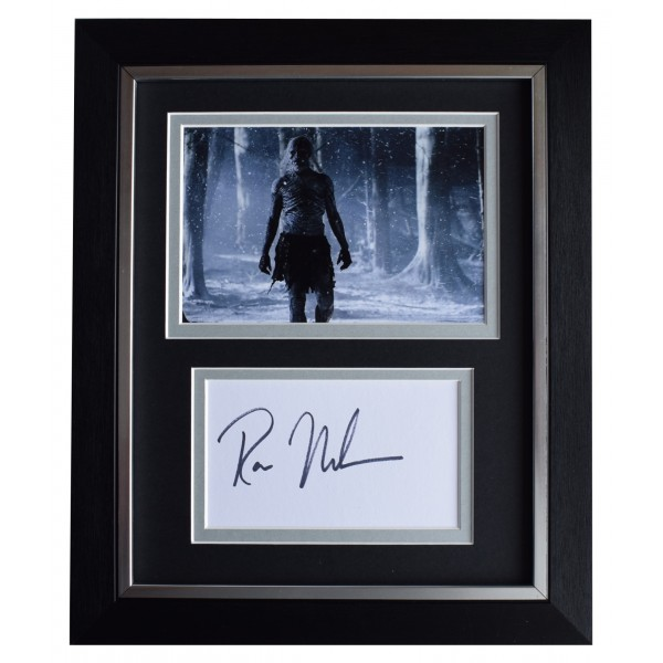 Ross Mullan Signed 10x8 Framed Autograph Photo Display Game of Thrones TV COA  Perfect Gift Memorabilia