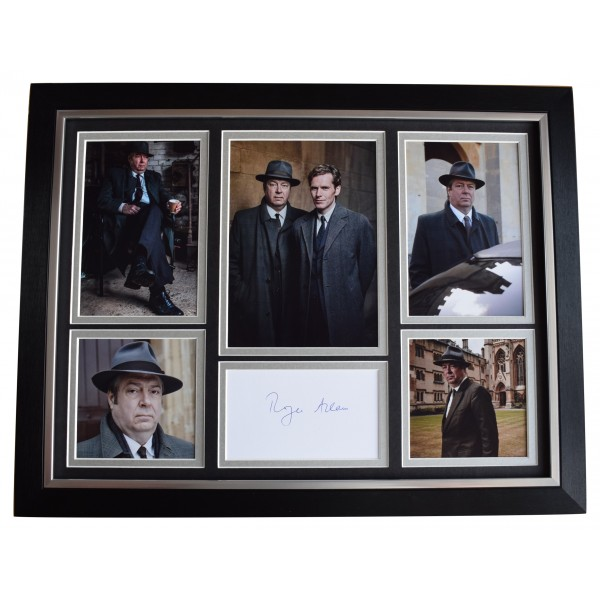 Roger Allam Signed Autograph 16x12 framed photo display TV Endeavour AFTAL   Perfect Gift Memorabilia