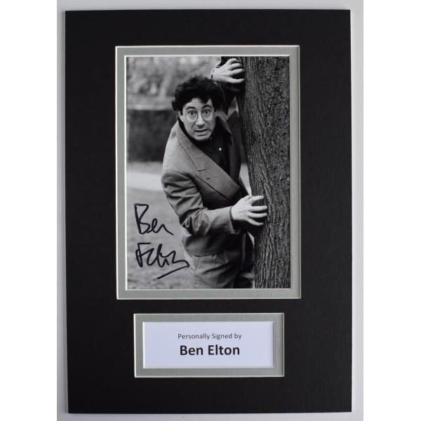 Ben Elton Signed Autograph A4 photo mount display Young Ones Comedy TV AFTAL COA  Perfect Gift Memorabilia