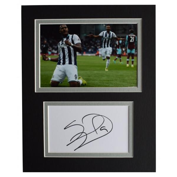 Salomon Rondon Signed Autograph 10x8 photo display West Bromwich Albion WBA COA Perfect Gift Memorabilia