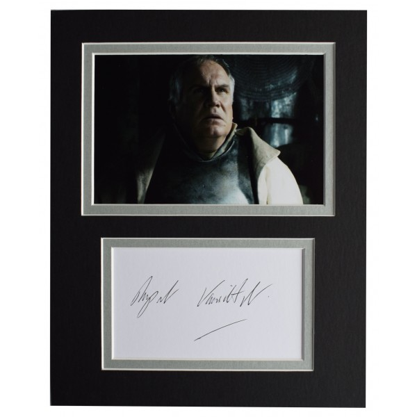 Rupert Vansittart Signed Autograph 10x8 photo display Game of Thrones TV GOT COA Perfect Gift Memorabilia