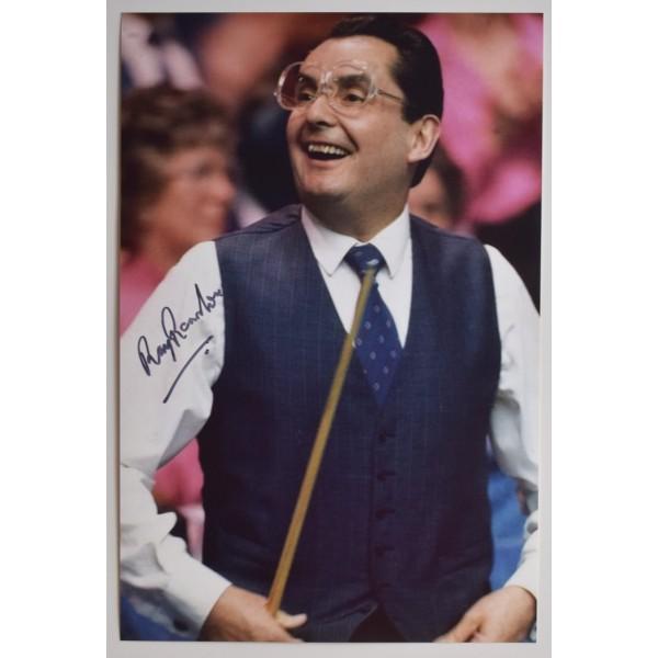 Ray Reardon Signed 12x8 Photo Autograph Snooker Champion Sport AFTAL COA Perfect Gift Memorabilia
