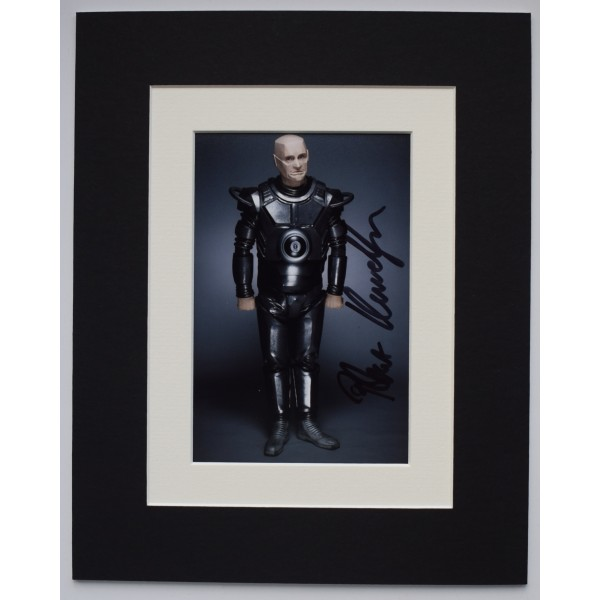 Robert Llewellyn Signed Autograph 10x8 photo display Red Dwarf TV COA AFTAL Perfect Gift Memorabilia