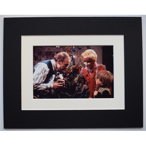 Brian Murphy Signed Autograph 10x8 photo display TV George & Mildred AFTAL COA AFTAL Perfect Gift Memorabilia