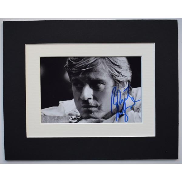 Robert Redford Signed Autograph 10x8 photo display TV Film Great Gatsby COA AFTAL Perfect Gift Memorabilia