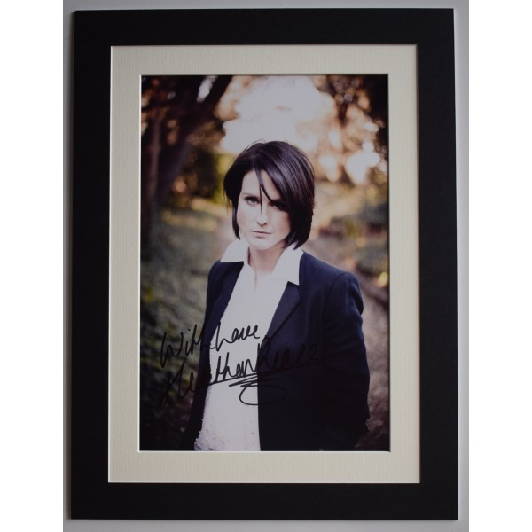 Heather Peace Signed autograph 16x12 photo display Music TV Actress AFTAL COA Perfect Gift Memorabilia