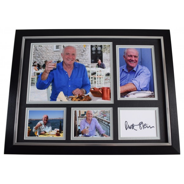 Rick Stein Signed Autograph framed 16x12 photo display Chef TV Seafood AFTAL COA Perfect Gift Memorabilia