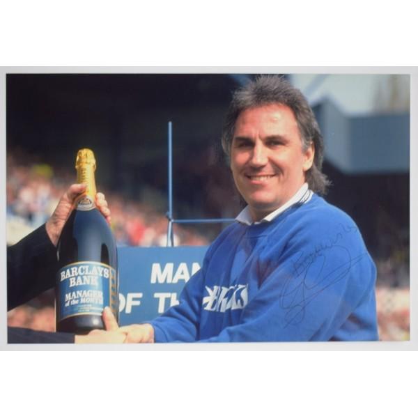 Gerry Francis SIGNED 12x8 Photo Autograph QPR Football AFTAL & COA Perfect Gift Memorabilia