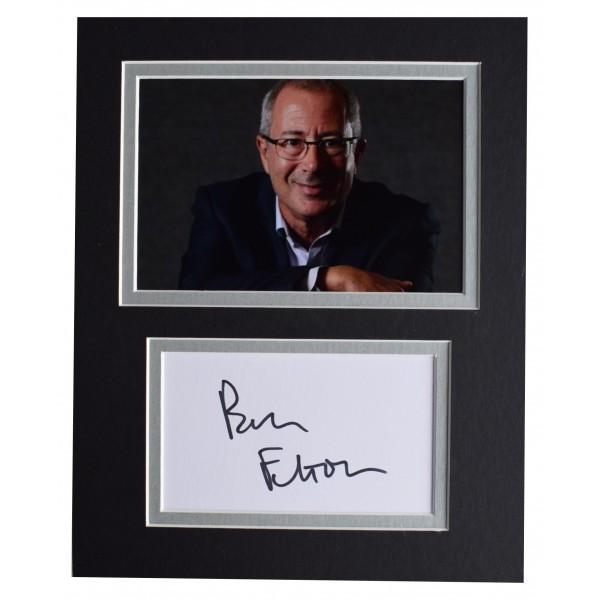Ben Elton Signed Autograph 10x8 photo display TV Comedy AFTAL COA Perfect Gift Memorabilia