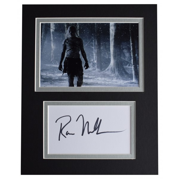 Ross Mullan Signed Autograph 10x8 photo display Doctor Who TV AFTAL COA Perfect Gift Memorabilia