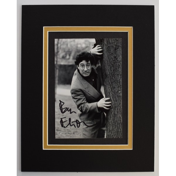Ben Elton Signed Autograph 10x8 photo mount display TV Comedy AFTAL + COA Perfect Gift Memorabilia