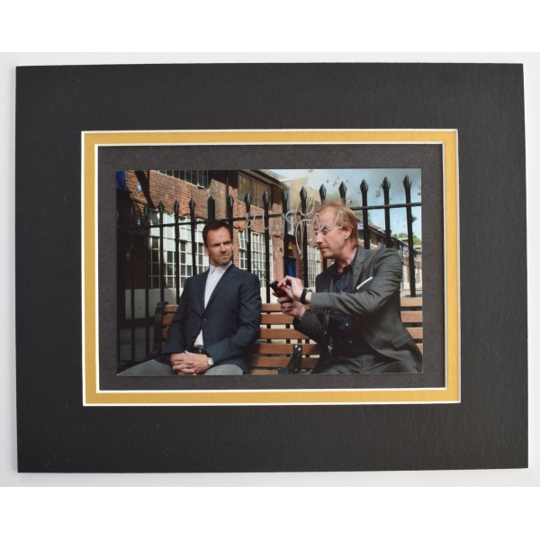 Rhys Ifans Signed Autograph 10x8 photo mount display TV Elementary AFTAL COA Perfect Gift Memorabilia