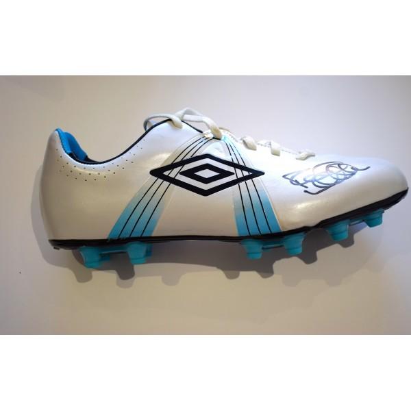 Rod Wallace Signed Autograph Football Boot Leeds Utd Glasgow Rangers COA AFTAL Perfect Gift Memorabilia