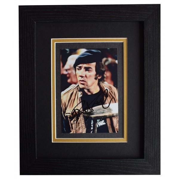 Robert Lindsay Signed 10x8 Framed Photo Autograph Display Citizen Smith TV COA AFTAL Perfect Gift Memorabilia