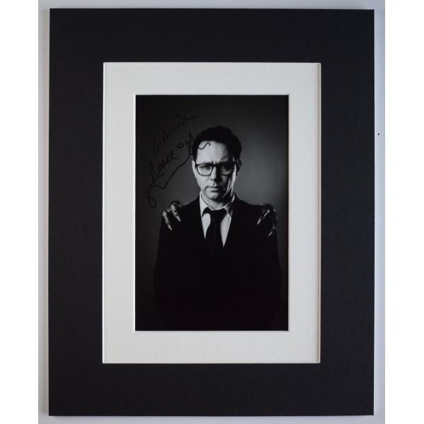 Reece Shearsmith Signed Autograph 10x8 photo display Doctor Who TV AFTAL COA Perfect Gift Memorabilia