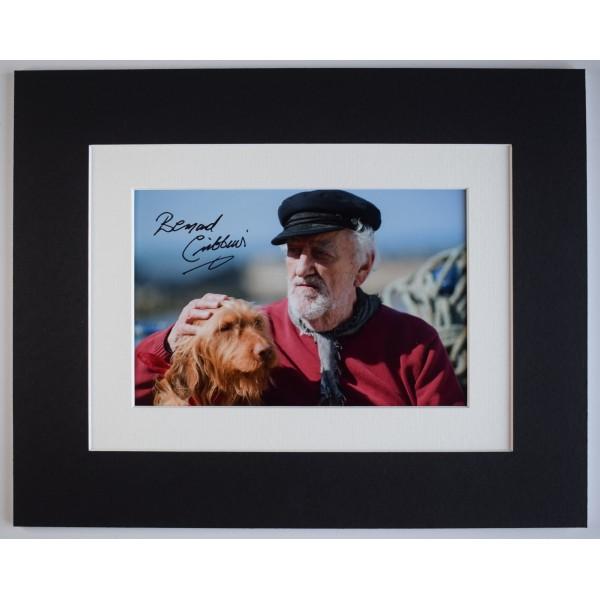 Bernard Cribbins Signed Autograph 10x8 photo display CBeebies Old Jacks Boat COA AFTAL Perfect Gift Memorabilia