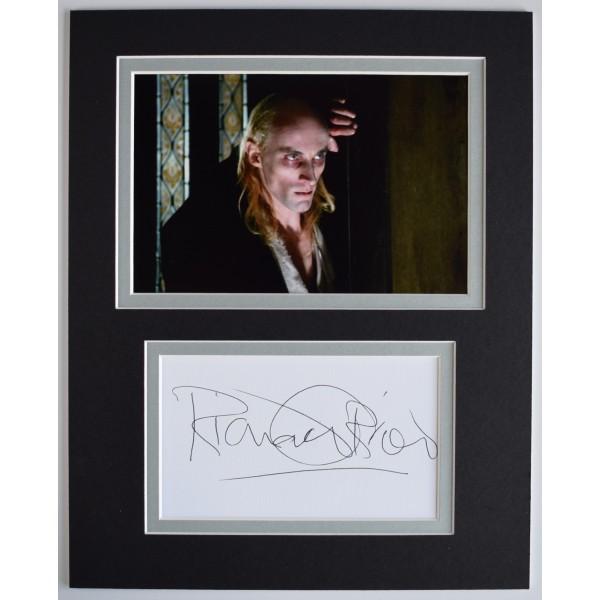 Richard O'Brien Signed Autograph 10x8 photo display Rocky Horror Show AFTAL COA Perfect Gift Memorabilia