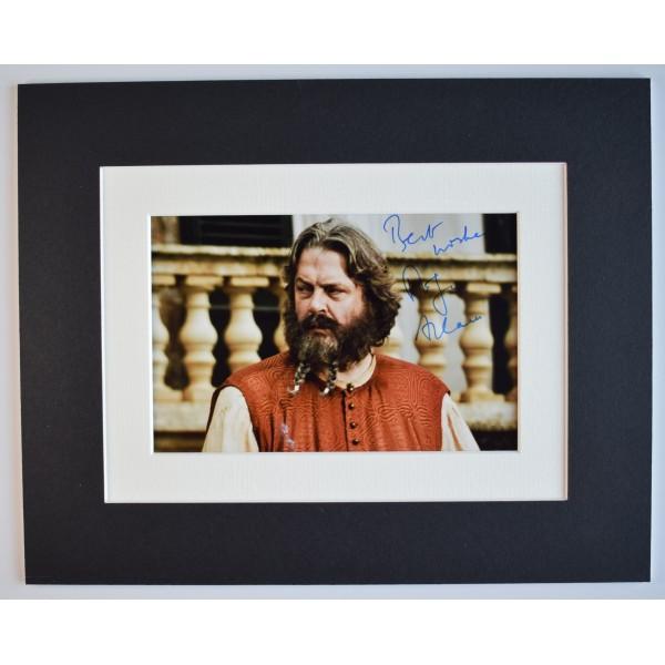Roger Allam Signed Autograph 10x8 photo display TV Game of thrones GOT AFTAL COA Perfect Gift Memorabilia