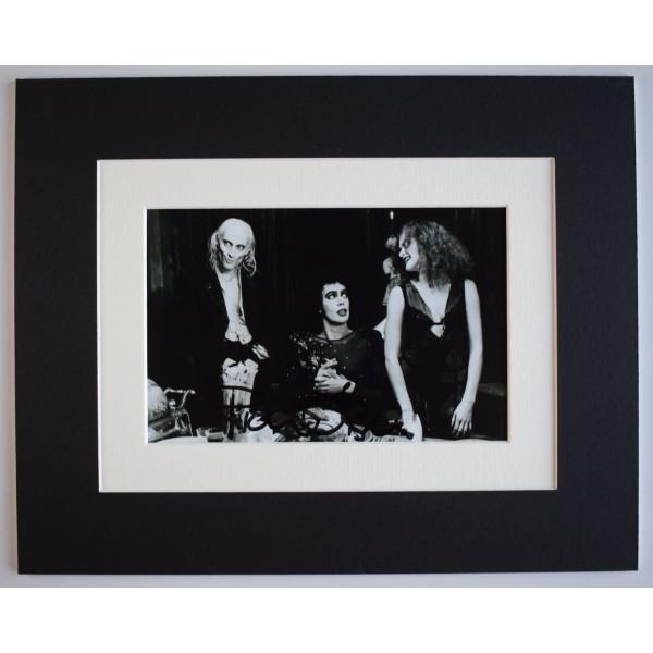 Richard O'Brien Signed Autograph 10x8 photo display Film Rocky Horror Show COA AFTAL Perfect Gift Memorabilia