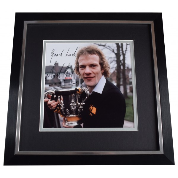 Andy Gray Signed Framed Large Square Photo Autograph Wolves Football AFTAL COA Perfect Gift Memorabilia
