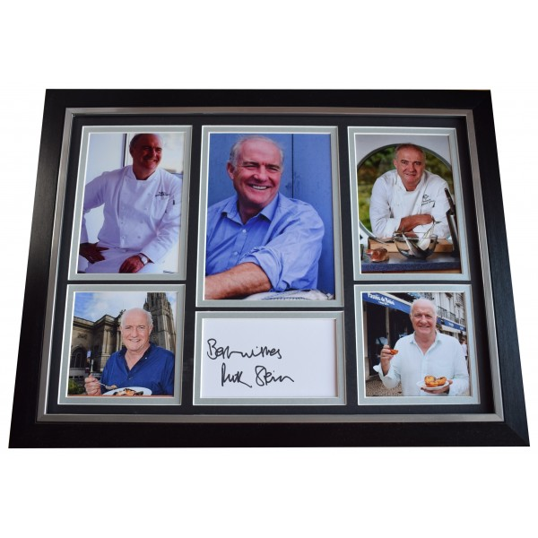 Rick Stein Signed Autograph 16x12 framed photo display Seafood Chef TV AFTAL COA Perfect Gift Memorabilia