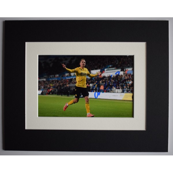 Jed Wallace Signed Autograph 10x8 photo display Millwall Football COA AFTAL Perfect Gift Memorabilia