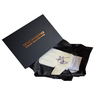 John Ruddy Signed Goalkeeper Glove Autograph Gift Box Wolves Football AFTAL COA AFTAL Perfect Gift Memorabilia
