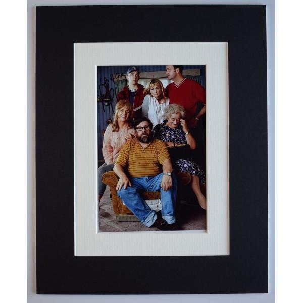 Ralph Little Signed Autograph 10x8 photo display Royle Family TV AFTAL COA Perfect Gift Memorabilia