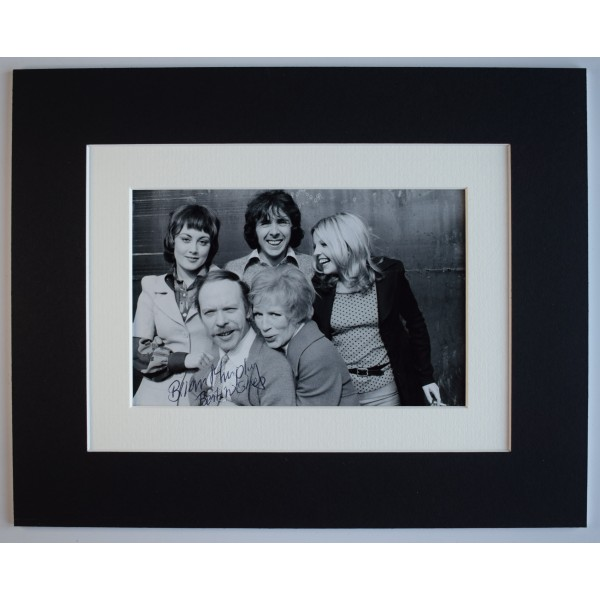 Brian Murphy Signed Autograph 10x8 photo display Man About The House AFTAL COA Perfect Gift Memorabilia
