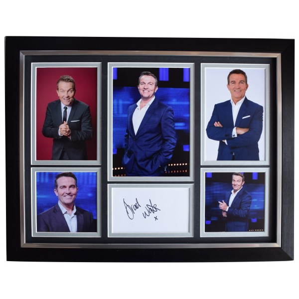 Bradley Walsh Signed Autograph framed 16x12 photo display TV The Chase AFTAL COA Perfect Gift Memorabilia