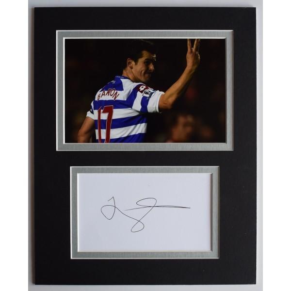 Joey Barton Signed Autograph 10x8 photo display QPR Queens Park Rangers AFTAL Perfect Gift Memorabilia
