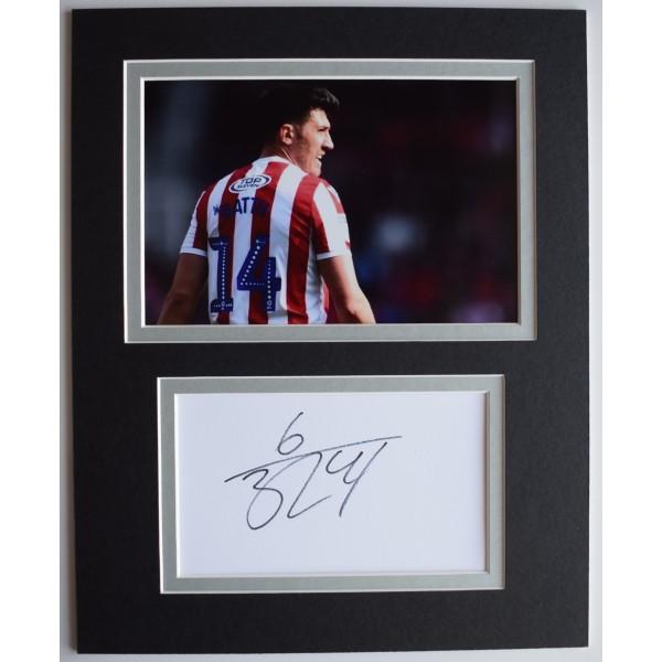 Danny Batth Signed Autograph 10x8 photo display Stoke City Football AFTAL COA Perfect Gift Memorabilia