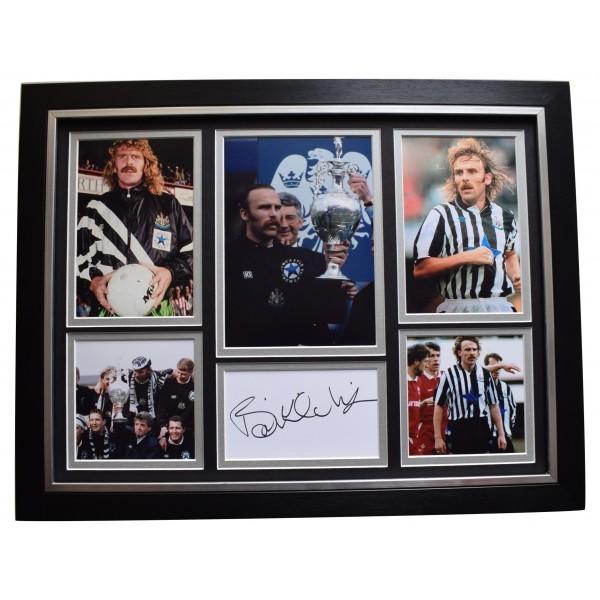 Brian Kilcline Signed Framed Autograph 16x12 photo display Newcastle United COA Perfect Gift Memorabilia