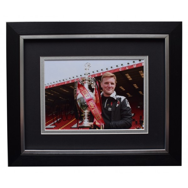 Eddie Howe Signed 10x8 Framed Autograph Photo Mount Bournemouth Football COA  Perfect Gift Memorabilia