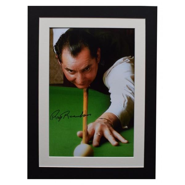 Ray Reardon Signed autograph 16x12 photo display Snooker Sport AFTAL & COA  Perfect Gift Memorabilia