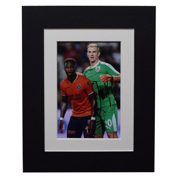 Joe Hart Signed Autograph 10x8 photo mount display Burnley Football AFTAL COA  Perfect Gift Memorabilia