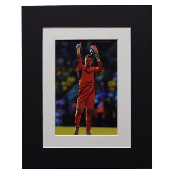 Jack Butland Signed Autograph 10x8 photo display Stoke City Football AFTAL COA Perfect Gift Memorabilia