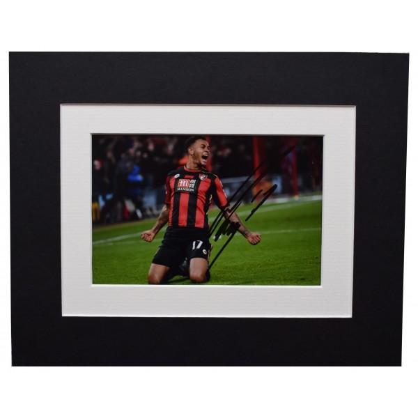 Joshua King Signed Autograph 10x8 photo display Bournemouth Football AFTAL COA Perfect Gift Memorabilia