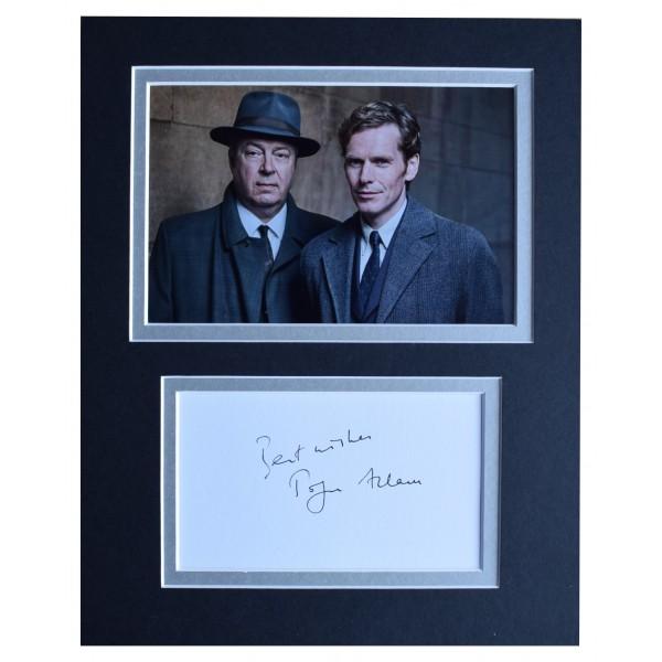 Roger Allam Signed Autograph 10x8 photo mount display Endeavour TV AFTAL COA  Perfect Gift Memorabilia